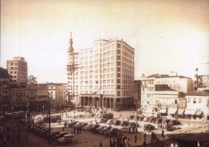 Sao Paulo 1940 ( reprinted postcard)