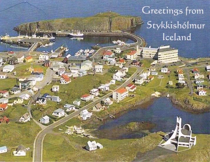 STYKKISHOLMUR , Iceland