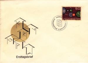 FDC - LIECHTENSTEIN - vaduz - 03.10.1961.