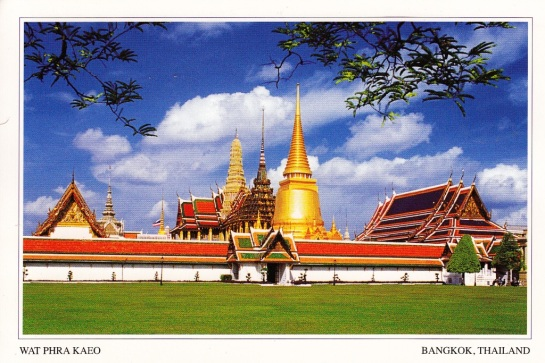 The Temple of the Emerald Buddha - Bangkok, Thailand