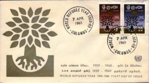 WRY- Ceylon-FDC