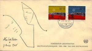 WRY-Liechtenstein-FDC