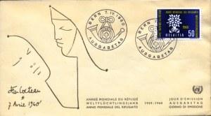 WRY-Switzerland-FDC
